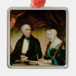 Portrait of William and Mary Wordsworth, 1839 Christmas Ornaments