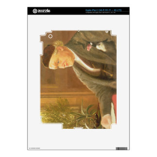 Portrait of William Bell Scott (1811-90), 1886 (oi Decal For iPad 3