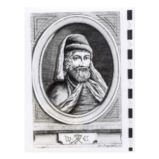 Portrait of William Caxton Postcard