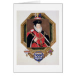 Portrait of William Cecil (1520-98) 1st Baron Burg Greeting Card