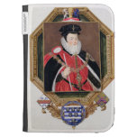 Portrait of William Cecil (1520-98) 1st Baron Burg Kindle 3G Cover