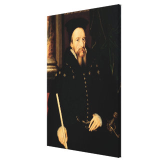 Portrait of William Cecil Gallery Wrapped Canvas