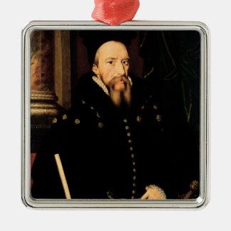Portrait of William Cecil Metal Ornament