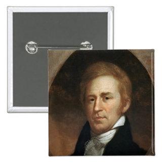Portrait of William Clark, c.1807 Pinback Button
