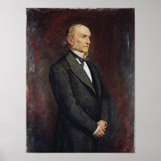 Portrait of William Ewart Galdstone  1879 Print