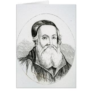 Portrait of William Grindal Card