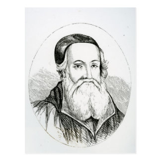 Portrait of William Grindal Postcard