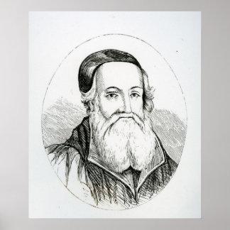 Portrait of William Grindal Poster