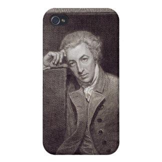 Portrait of William Hayley iPhone 4 Case