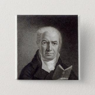 Portrait of William Hayley Pinback Button
