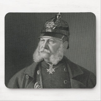 Portrait of William I  King of Prussia Mouse Pad