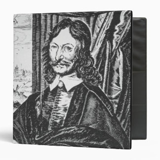 Portrait of William Lilly (1602-81), from his 'Chr Binder