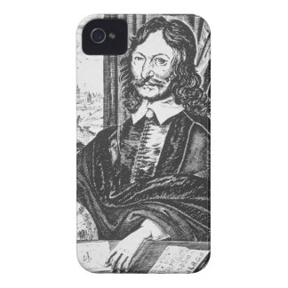 Portrait of William Lilly (1602-81), from his 'Chr iPhone 4 Cover