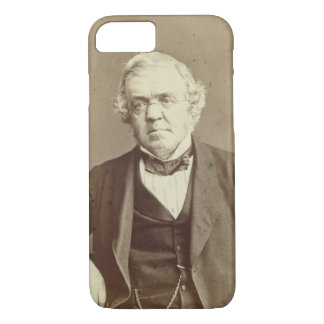 Portrait of William Makepeace Thackeray (1811-63) iPhone 8/7 Case