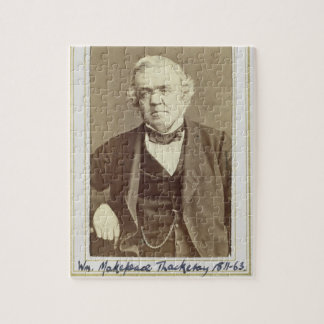 Portrait of William Makepeace Thackeray (1811-63) Jigsaw Puzzle
