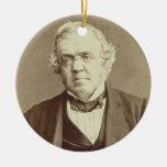 Portrait of William Makepeace Thackeray (1811-63) Ornaments