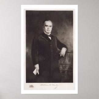 Portrait of William McKinley (litho) Poster