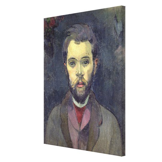 Portrait of William Molard (1862-1936), Swedish (o Canvas Print