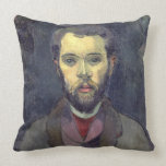 Portrait of William Molard (1862-1936), Swedish (o Pillow
