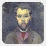 Portrait of William Molard (1862-1936), Swedish (o Square Sticker
