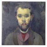 Portrait of William Molard (1862-1936), Swedish (o Tile
