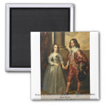 Portrait Of William Of Orange As A Prince Refrigerator Magnet