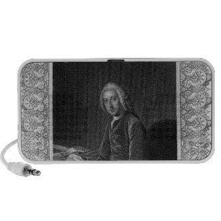 Portrait of William Pitt, 1st Earl of Chatham iPod Speaker