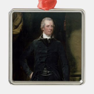 Portrait of William Pitt the Younger Metal Ornament