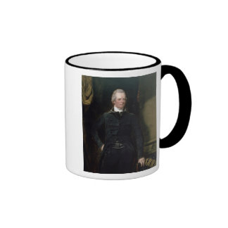 Portrait of William Pitt the Younger Ringer Coffee Mug
