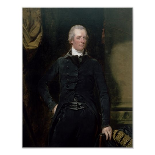 Portrait of William Pitt the Younger Poster