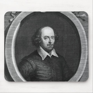 Portrait of William Shakespeare  1719 Mouse Pad