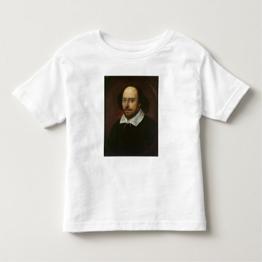Portrait of William Shakespeare  c.1610 Toddler T-shirt