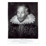 Portrait of William Shakespeare Post Cards