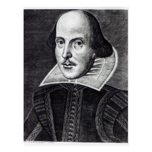 Portrait of William Shakespeare Postcards