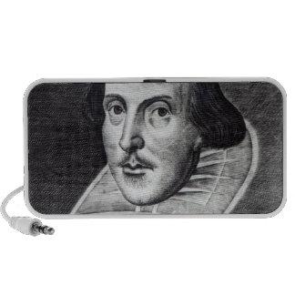 Portrait of William Shakespeare Mp3 Speakers