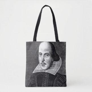 Portrait of William Shakespeare Tote Bag