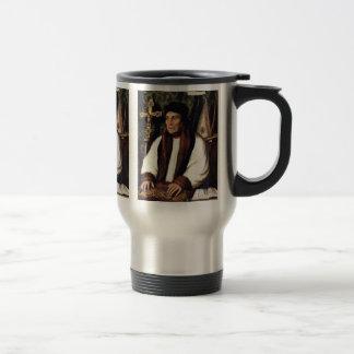Portrait Of William Warham Archbishop 15 Oz Stainless Steel Travel Mug