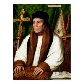 Portrait of William Warham Postcard