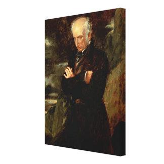 Portrait of William Wordsworth  1842 Canvas Print