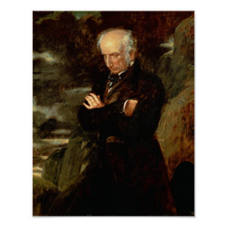 Portrait of William Wordsworth  1842 Poster