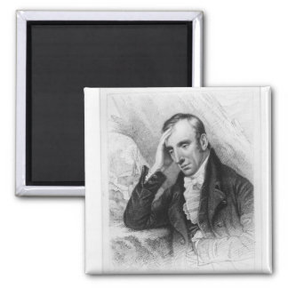 Portrait of William Wordsworth Magnet