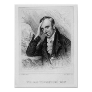 Portrait of William Wordsworth Poster