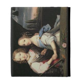 Portrait of Winston and Arabella (1648-1730) Churc iPad Case