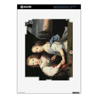 Portrait of Winston and Arabella (1648-1730) Churc Decals For iPad 3
