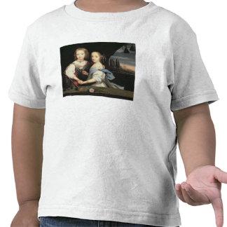 Portrait of Winston and Arabella (1648-1730) Churc T-shirt
