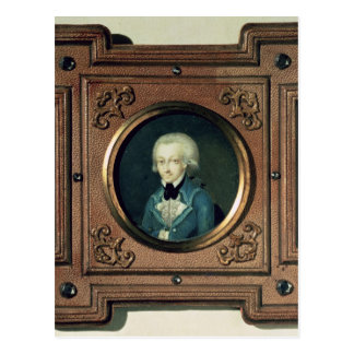 Portrait of Wolfgang Amadeus Mozart , 1773 Post Card