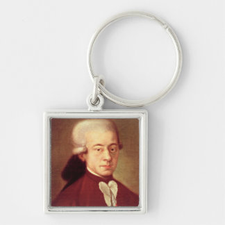 Portrait of Wolfgang Amadeus Mozart  after 1770 Keychain