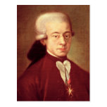 Portrait of Wolfgang Amadeus Mozart  after 1770 Postcards