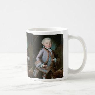 Portrait of Wolfgang Amadeus Mozart Coffee Mug