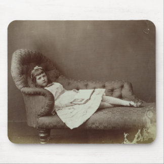 Portrait of Xie Kitchin (albumen print) Mouse Pad
